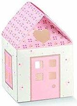Scotton 20 PZ Casa Casetta Portaconfetti Rosa