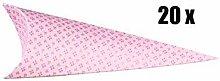Scotton 20 PZ Cono portaconfetti Rosa Serie Bloom
