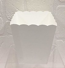 Scotton 20 PZ Vaso in Carta Bianco portaconfetti