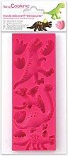 ScrapCooking 3449Dinosauri Stampo Pasta Silicone