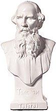 scrittore russo Leo (Lev) Tolstoj marmo busto
