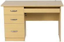 Scrivania ufficio con cassetti, scrivanie porta pc