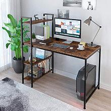Scrivania ufficio design industriale libreria