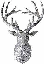 Scultura da Parete Scultura Testa di Cervo con