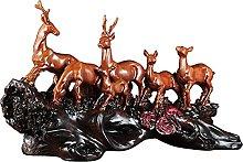 Scultura da tavolo Fortunato cervo statua scultura