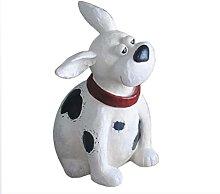 Scultura della statua del cane del fumetto,