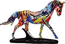 Scultura di Cavallo in Resina, Statua di Figurina