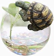 Scultura figurine ornamento carino resina tortoise