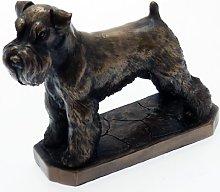 Scultura in bronzo David Geenty - Statua di cane