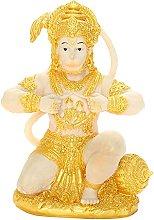 Scultura in resina Hanuman Dio indù Figurina