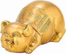 Scultura Sorridente Statua Maiale Carino, Cina