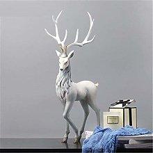 Scultura Statua Animale in Resina in Stile Europeo