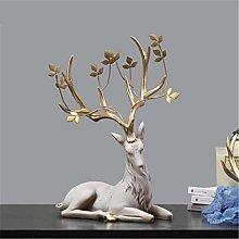Scultura Statua Dell'Animale di Resina Europea