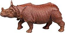 Scultura Statua di rinoceronte animale simulazione
