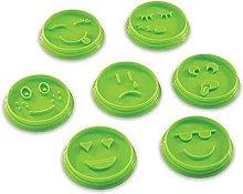 SDGSDG Stampo per biscotti fai da te con smiley