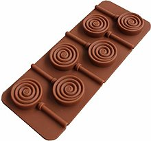 Sdvklly Stampo al Cioccolato in Silicone Lollipop