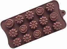 Sdvklly Stampo di Sapone del Cioccolato del
