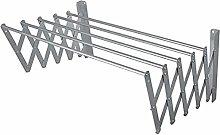SECATOT Stendibiancheria in alluminio, 110 cm