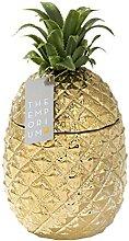 Secchiello per il ghiaccio con ananas dorato con