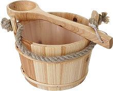 Secchio secchiello per sauna HWC-B26 inserto e