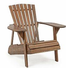 Sedia a sdraio canadese in legno 'Kaori'