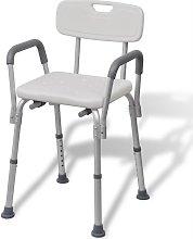 Sedia da Doccia in Alluminio Bianca - Bianco -