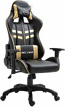 Sedia da Gaming Oro in Similpelle - Oro - Youthup