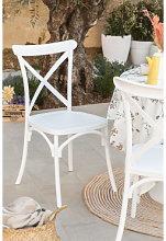 Sedia da giardino Otax Bianco Sklum
