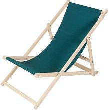 Sedia da spiaggia sedia a sdraio in legno sdraio