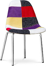 Sedia Dorwick - Patchwork Tessa Multicolore