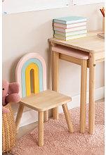 Sedia in legno per bambini Mini Rainbow Legno