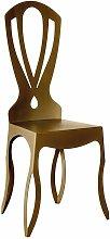 Sedia moderna e di design Minerva Bronzo - Arti E