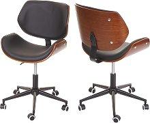 Sedia poltrona girevole ufficio HWC-G25 design