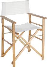 Sedia regista in legno di faggio Montecarlo