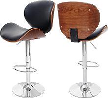Sedia sgabello Foxrock design elegante legno