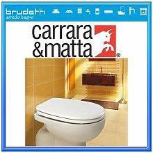 Sedile WC CARRARA & MATTA Compatibile IDEAL