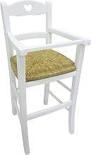 Seggiolone sediolone sedia sgabello in legno
