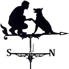 Segnavento per uomo e cane