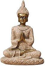 Semplici Idee Di Moda Arenaria Statua Del Buddha