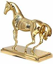 Semplici Idee Di Moda Statua Dorata Del Cavallo