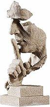 Semplici Idee Di Moda Statua Ornamento Carattere