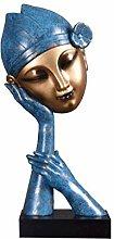 Semplici Idee Di Moda Statua Scultura in Resina