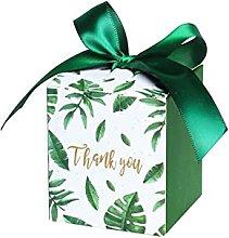 Sen Dipartimento Green Creative Quadrato Candy Box