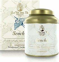 Sencha, tè Verde Giapponese, Barattolo di Latta,
