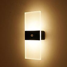 Sensibile PIR Motion S-ensor Lampada da parete per