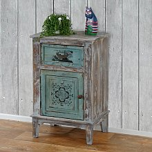 Serie vintage como cassettiera legno stile