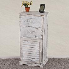 Serie vintage comodino cassettiera legno paulonia