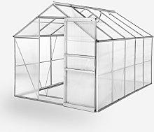 Serra per giardinaggio alluminio policarbonato