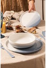 Servizio da tavola in porcellana 12 pezzi Mar