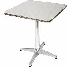 Set 10x tavoli bistro bar giardino M28 alluminio